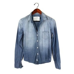 Frank & Eileen top chambray painters tee Barry xs